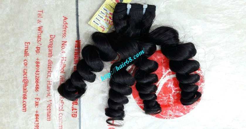 30 inch Best Weaves For Natural Hair - Steam Wavy 5