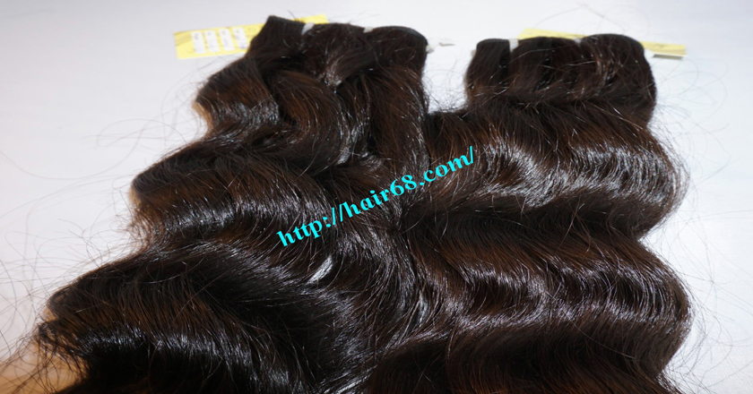32 inch Natural Weave Hair Extensions - Steam Wavy 1