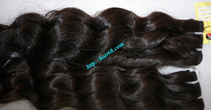 32 inch Natural Weave Hair Extensions - Steam Wavy 2