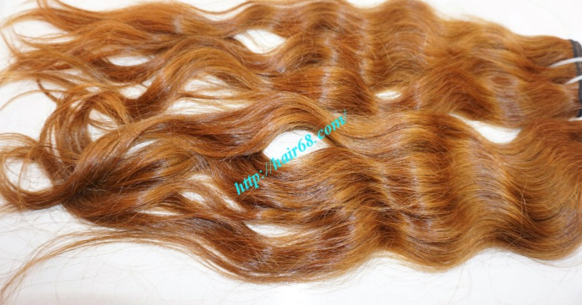 32 inch Natural Weave Hair Extensions - Steam Wavy 3