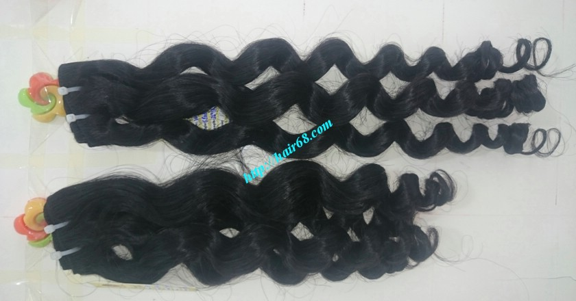 32 inch Natural Weave Hair Extensions - Steam Wavy 5