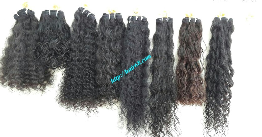 32 inch Natural Weave Hair Extensions - Steam Wavy 6