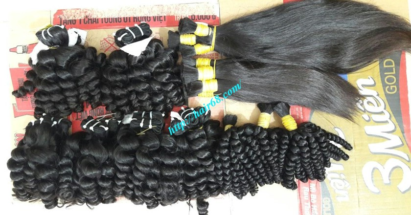 32 inch Natural Weave Hair Extensions - Steam Wavy 7