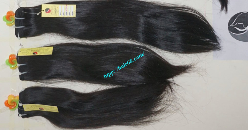 8 inch best human hair weave single straight 12
