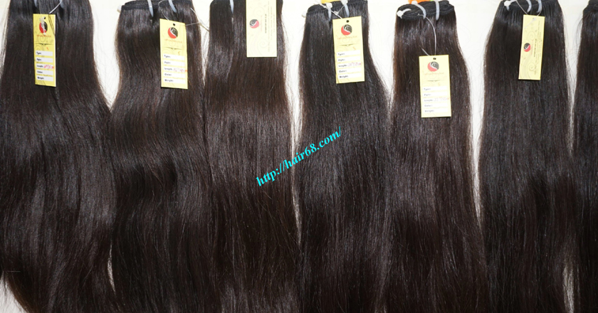 8 inch best human hair weave single straight 13