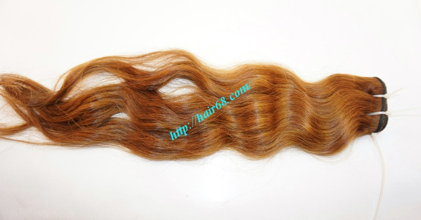 8 inch Best wavy weave hair - steam wavy 3