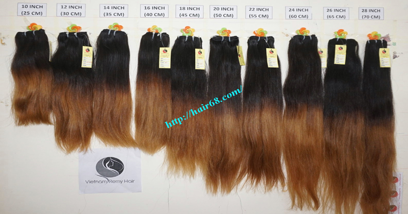 Sell Online Hair Extensions Ombre Weave 10 Inch 100 Human Hair