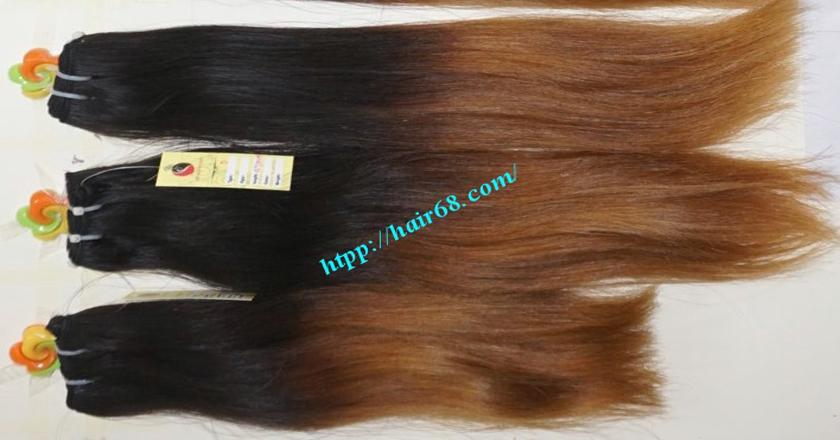 12 inch cheap ombre hair extension vietnam hair 11