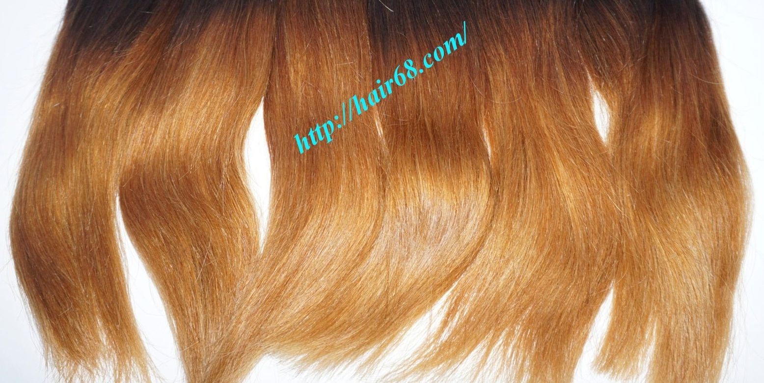 12 inch cheap ombre hair extension vietnam hair 4