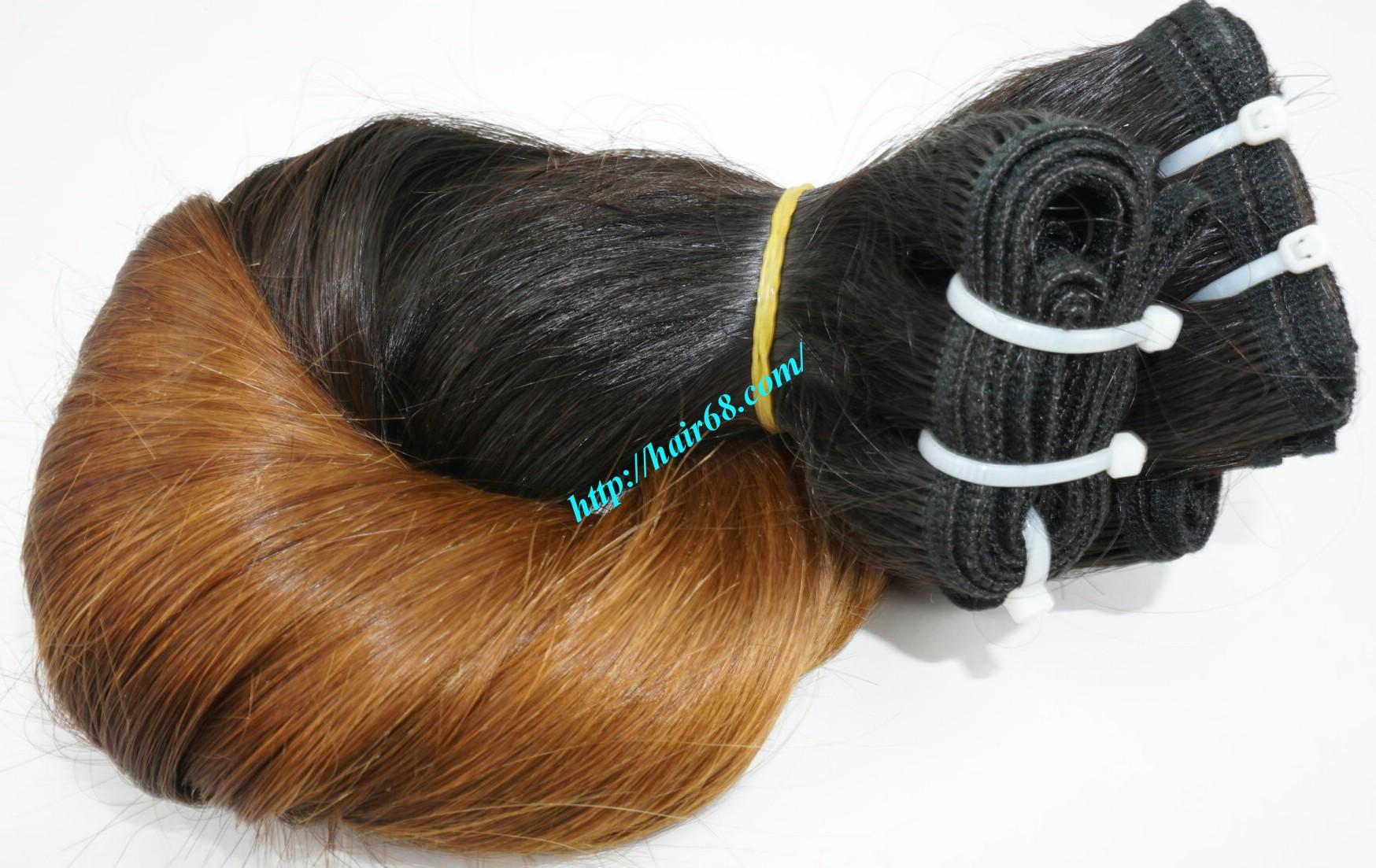 12 inch cheap ombre hair extension vietnam hair 5