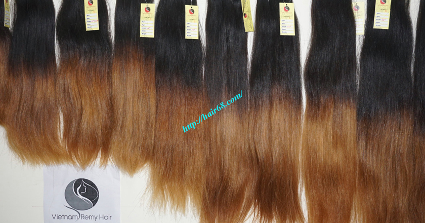 14 inch ombre hair weave vietnam hair 12