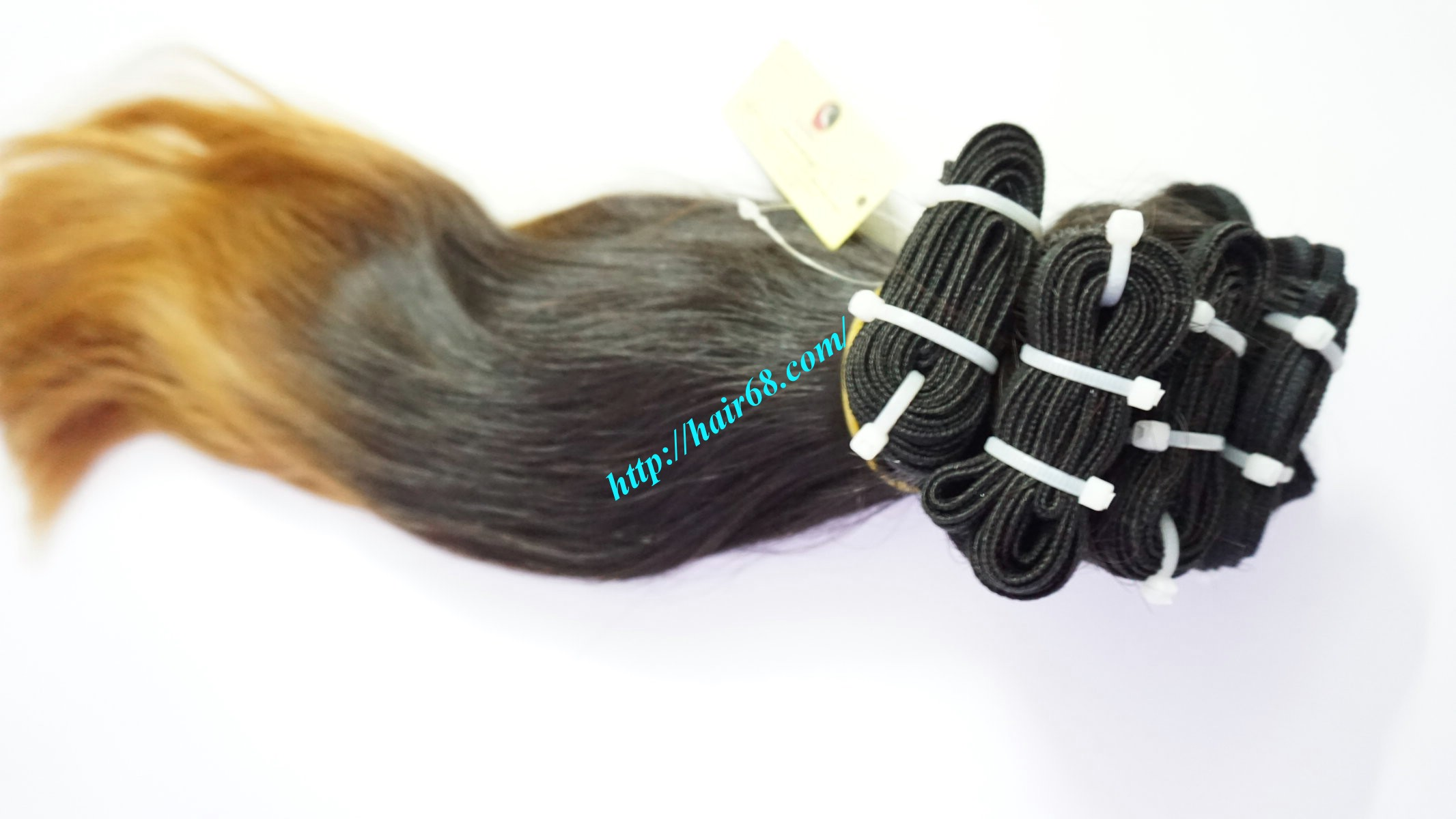 16 inch ombre hair extension vietnam hair 1