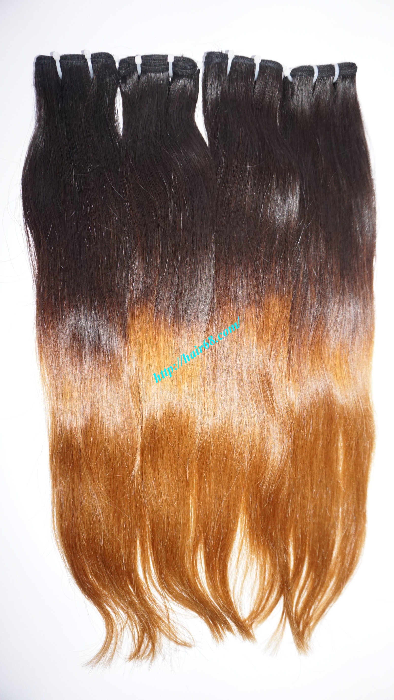 16 inch ombre hair extension vietnam hair 2