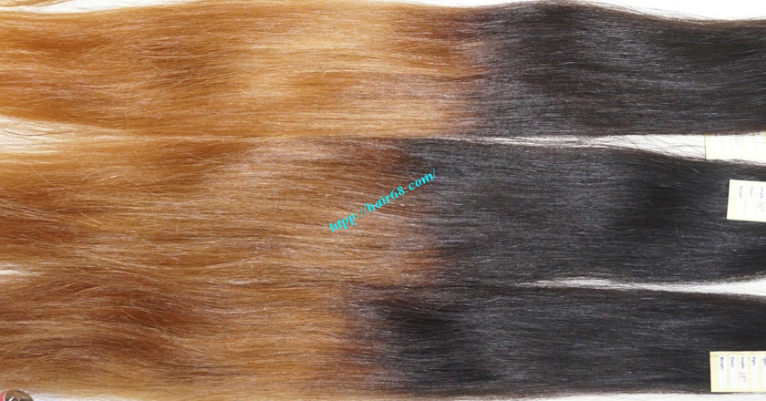 16 inch ombre hair extension vietnam hair 5