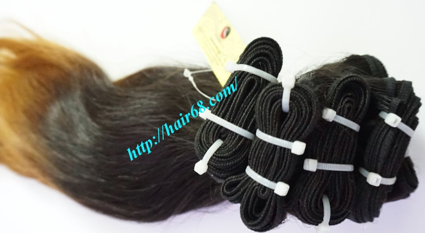 18 inch ombre hair extensions vietnam hair 1