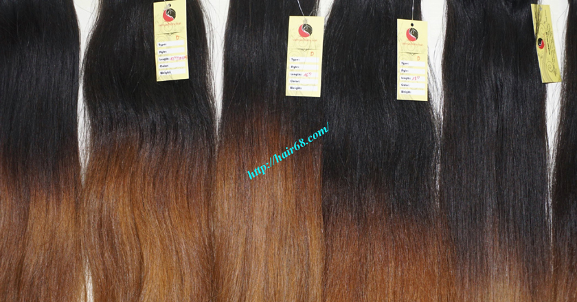 18 inch ombre hair extensions vietnam hair 14