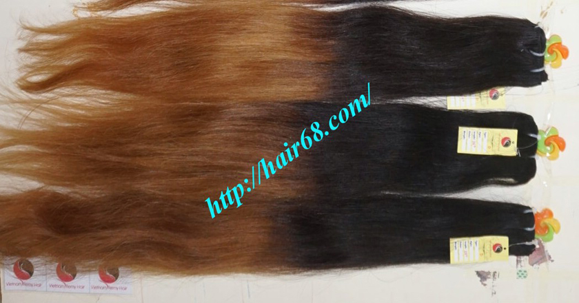 18 inch ombre hair extensions vietnam hair 15