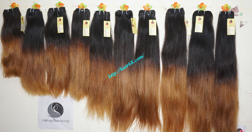 18 inch ombre hair extensions vietnam hair 16