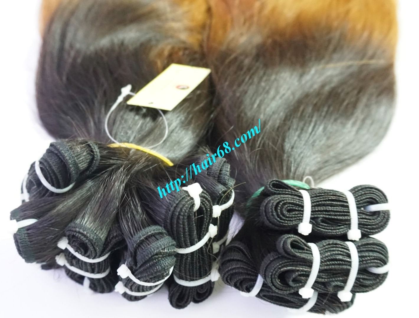 18 inch ombre hair extensions vietnam hair 5
