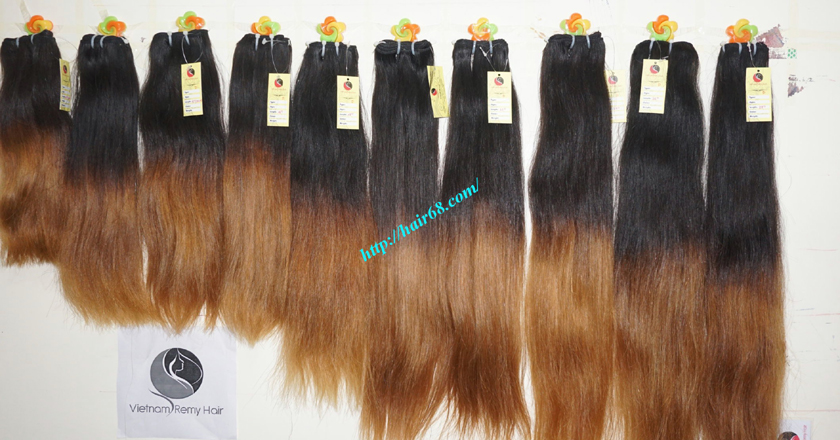 22 inch ombre hair extensions online vietnam hair 5