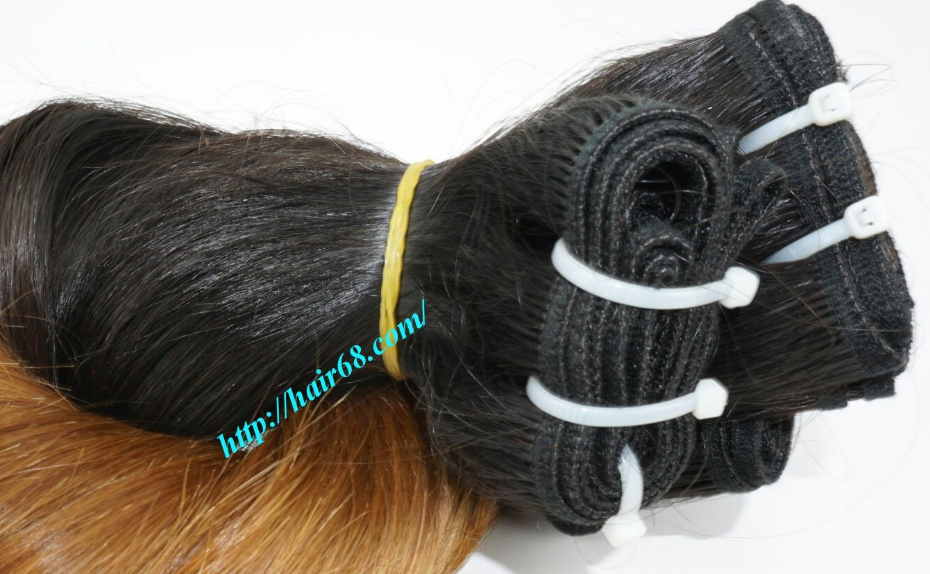 24 inch ombre hair extensions weft vietnam hair 1