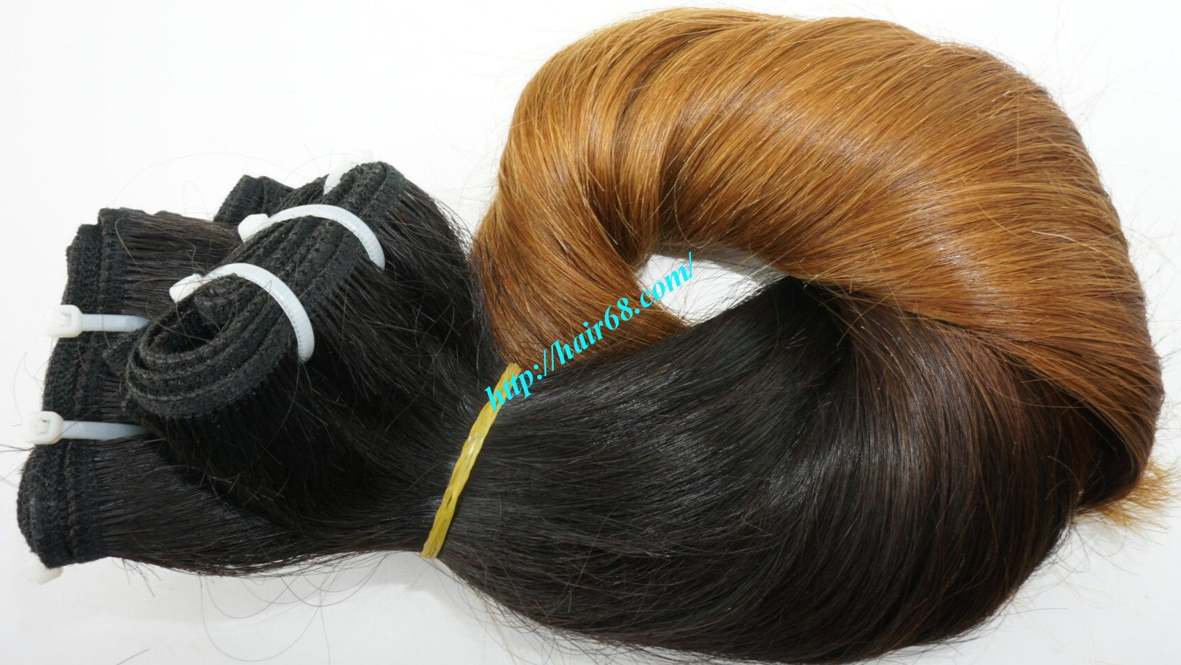 24 inch ombre hair extensions weft vietnam hair 6