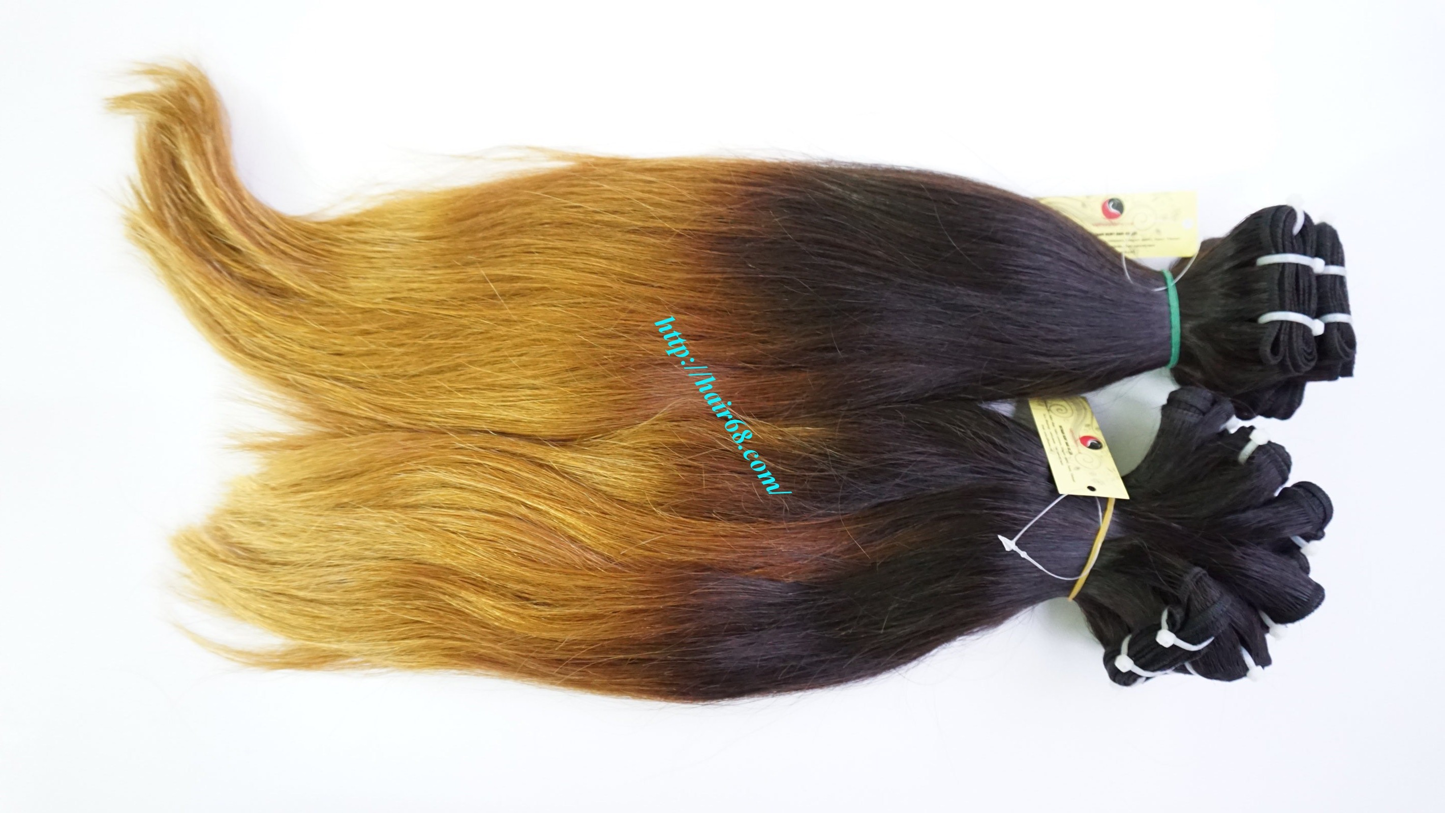 how to put in ombre hair extensions