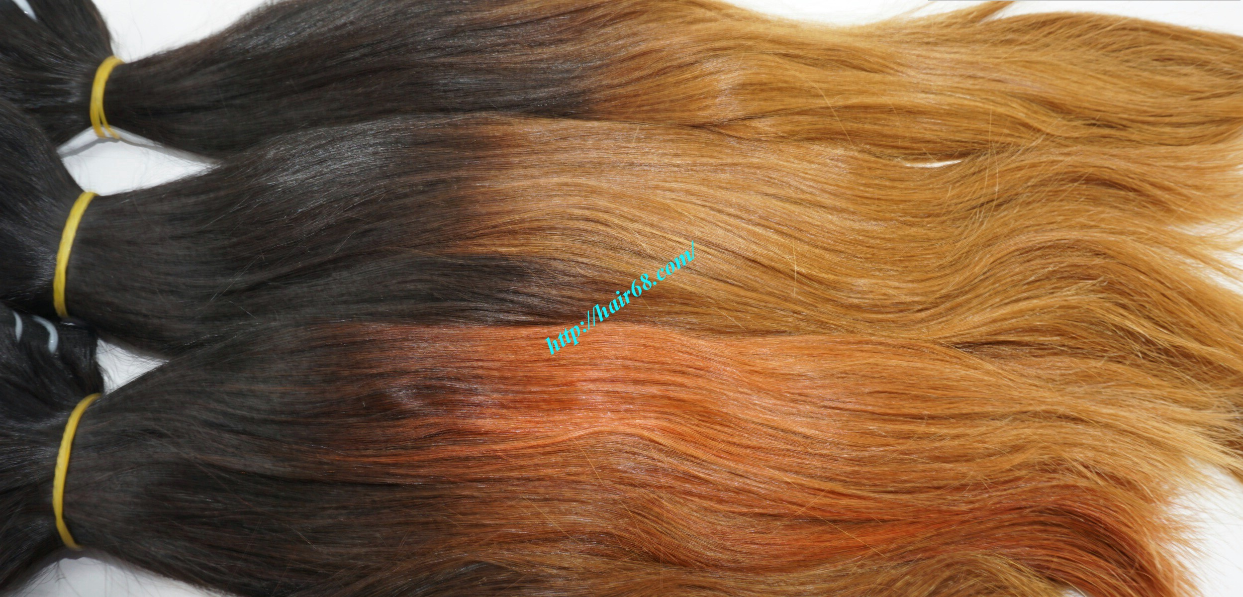24 inch ombre hair extensions weft vietnam hair 8