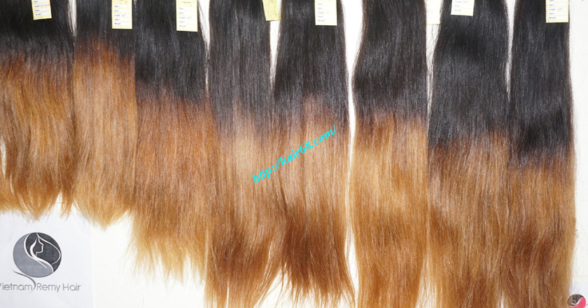 26 inch remy ombre hair extensions vietnam hair 10