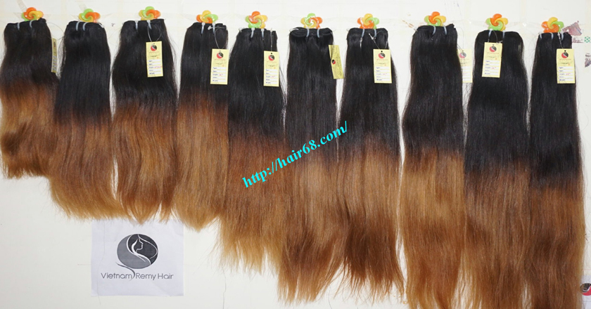 26 inch remy ombre hair extensions vietnam hair 11