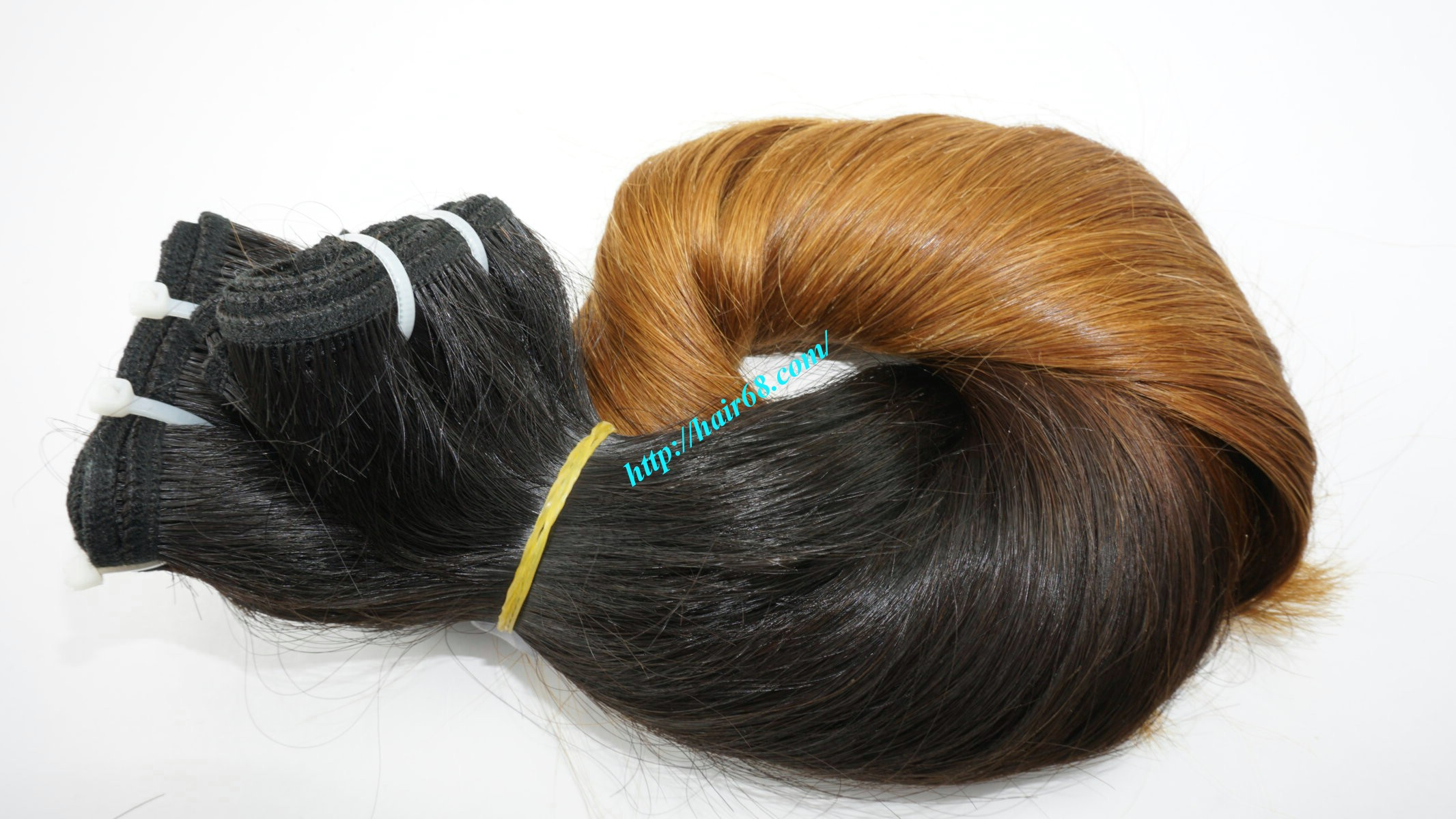 26 inch remy ombre hair extensions vietnam hair 6