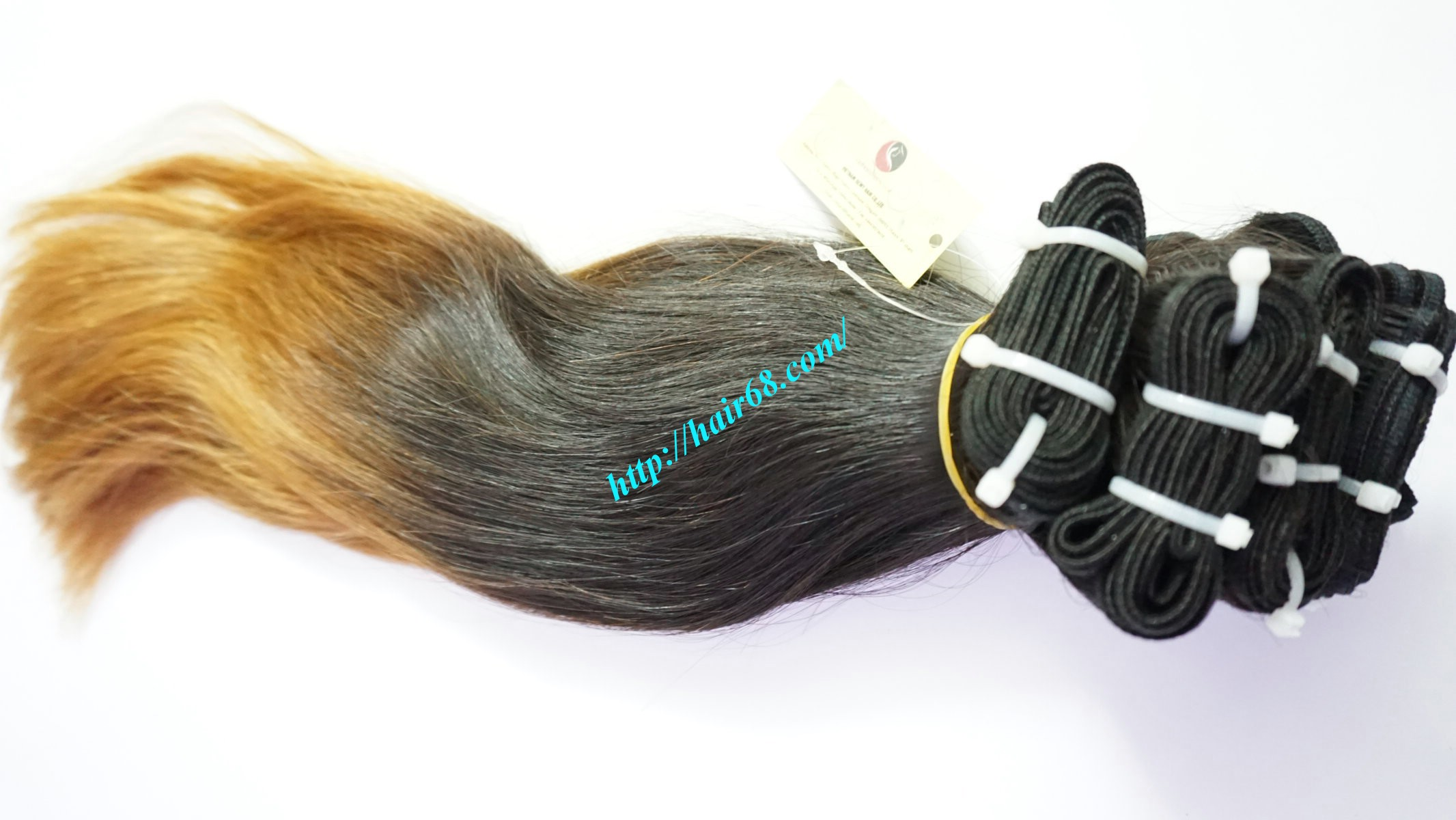 26 inch remy ombre hair extensions vietnam hair 7