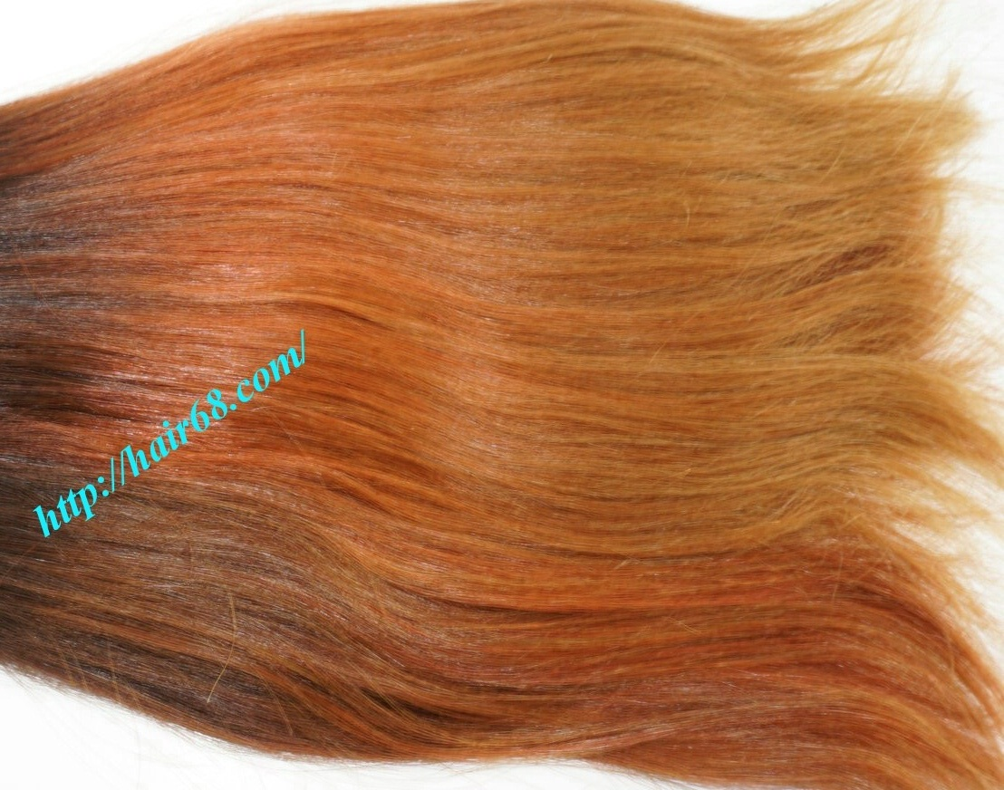 8 inch ombre weave hair extensions vietnam hair 4