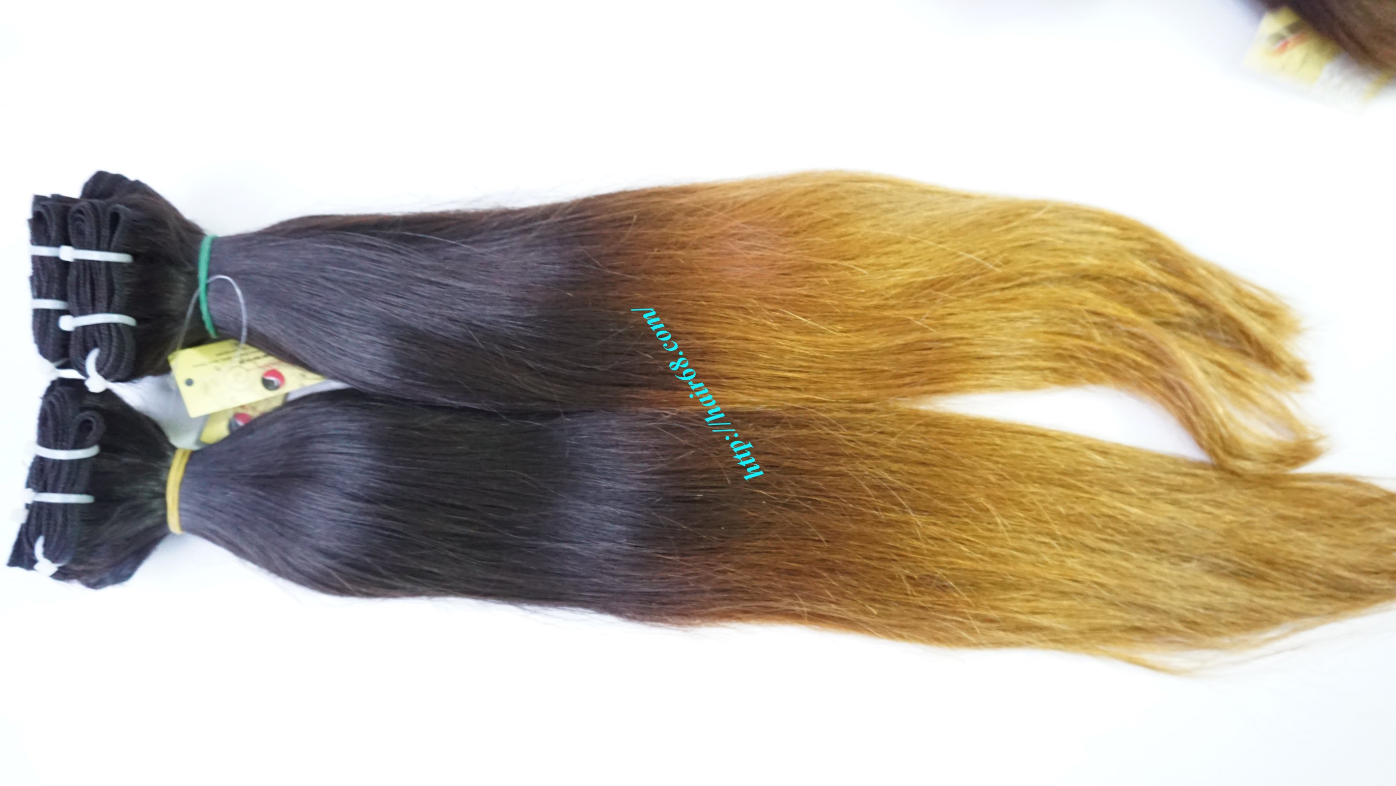 8 inch ombre weave hair extensions vietnam hair 5
