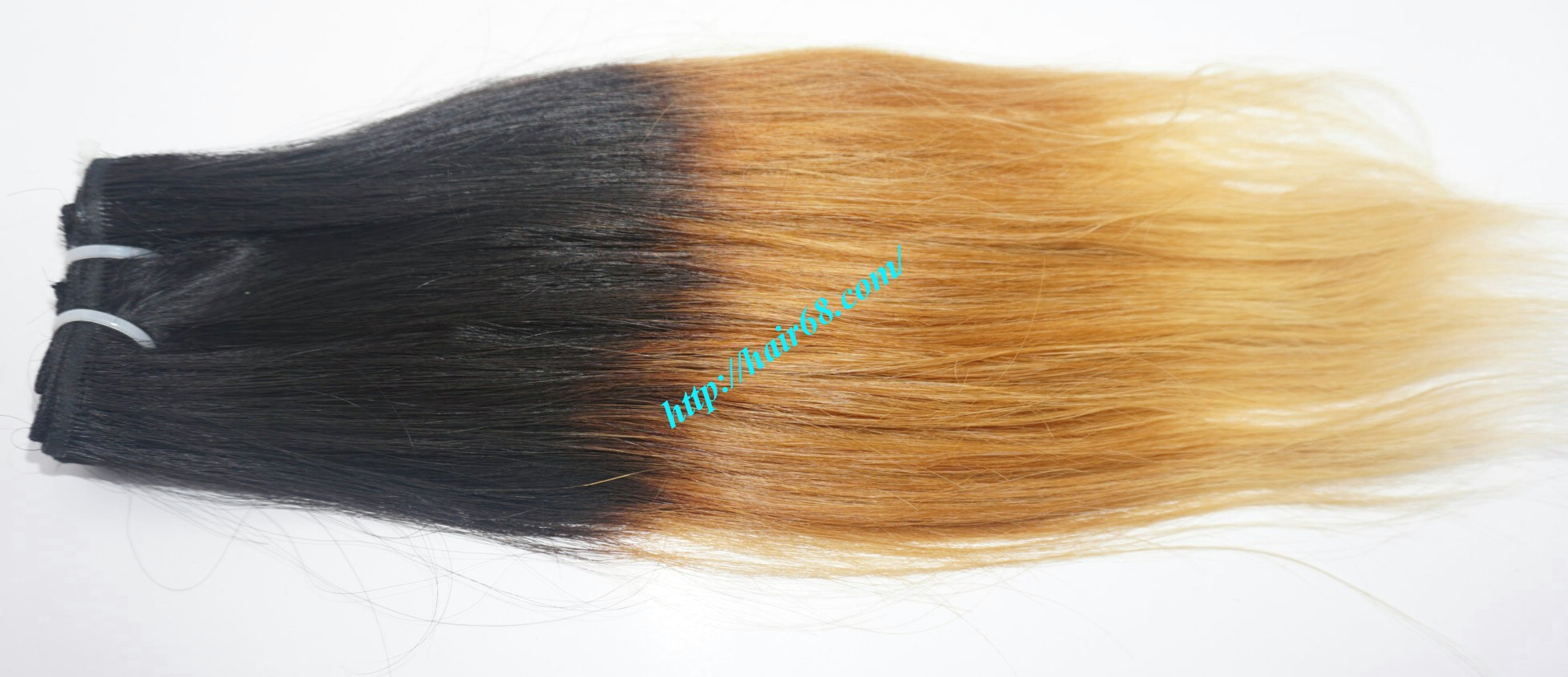 8 inch ombre weave hair extensions vietnam hair 6