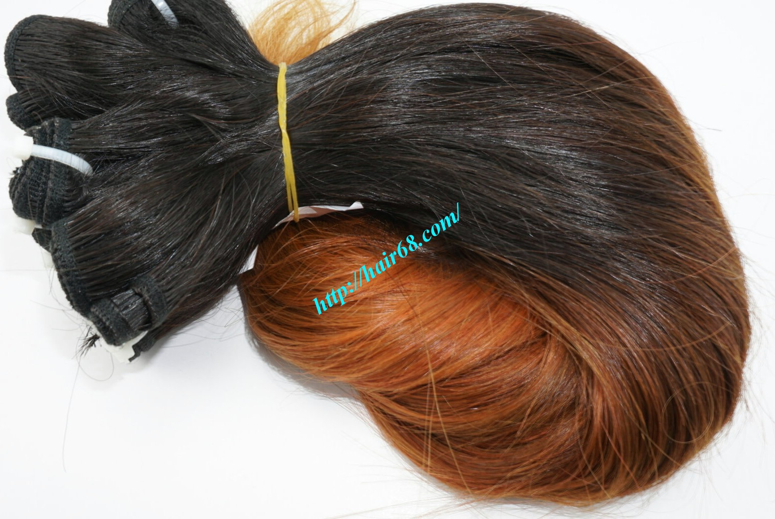 8 inch ombre weave hair extensions vietnam hair 7