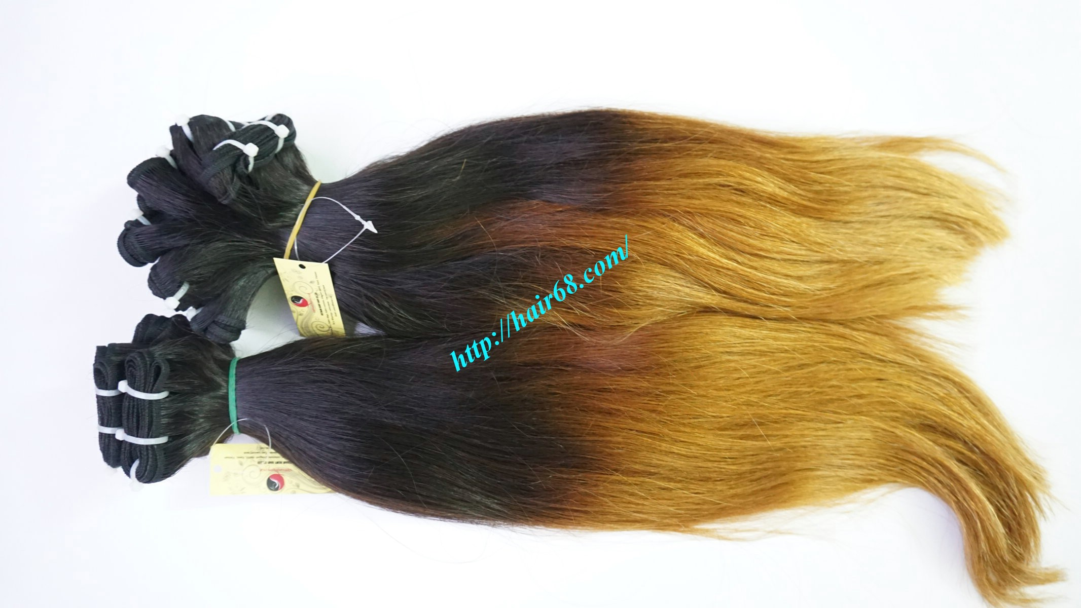 8 inch ombre weave hair extensions vietnam hair 9