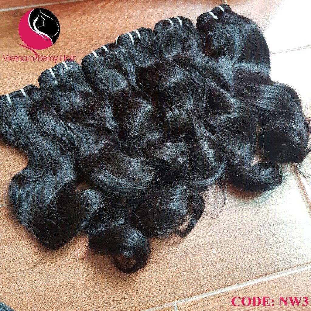 human wavy weave